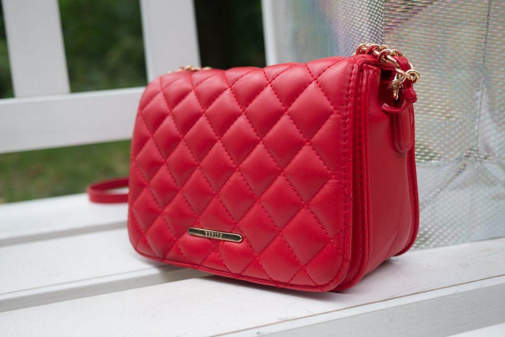 borsa colorata rossa