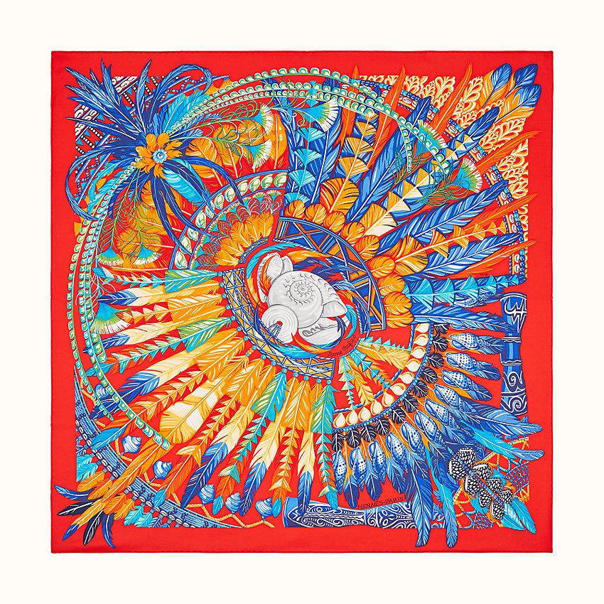 Foulard Hermès dai colori accesi